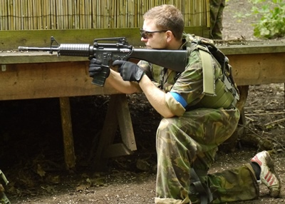 M4 Version 1 Airsoft Rental Package